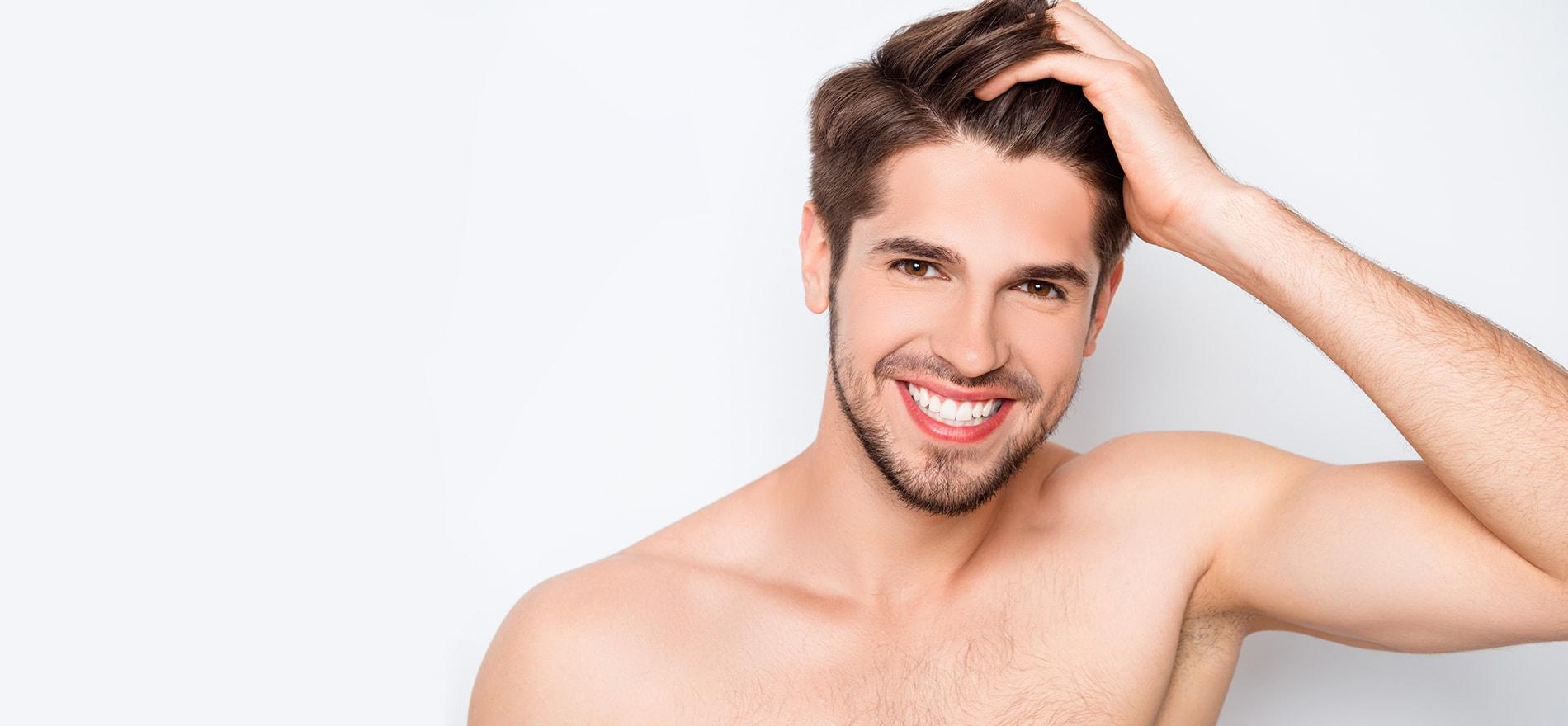 Haarausfall-Haartherapie